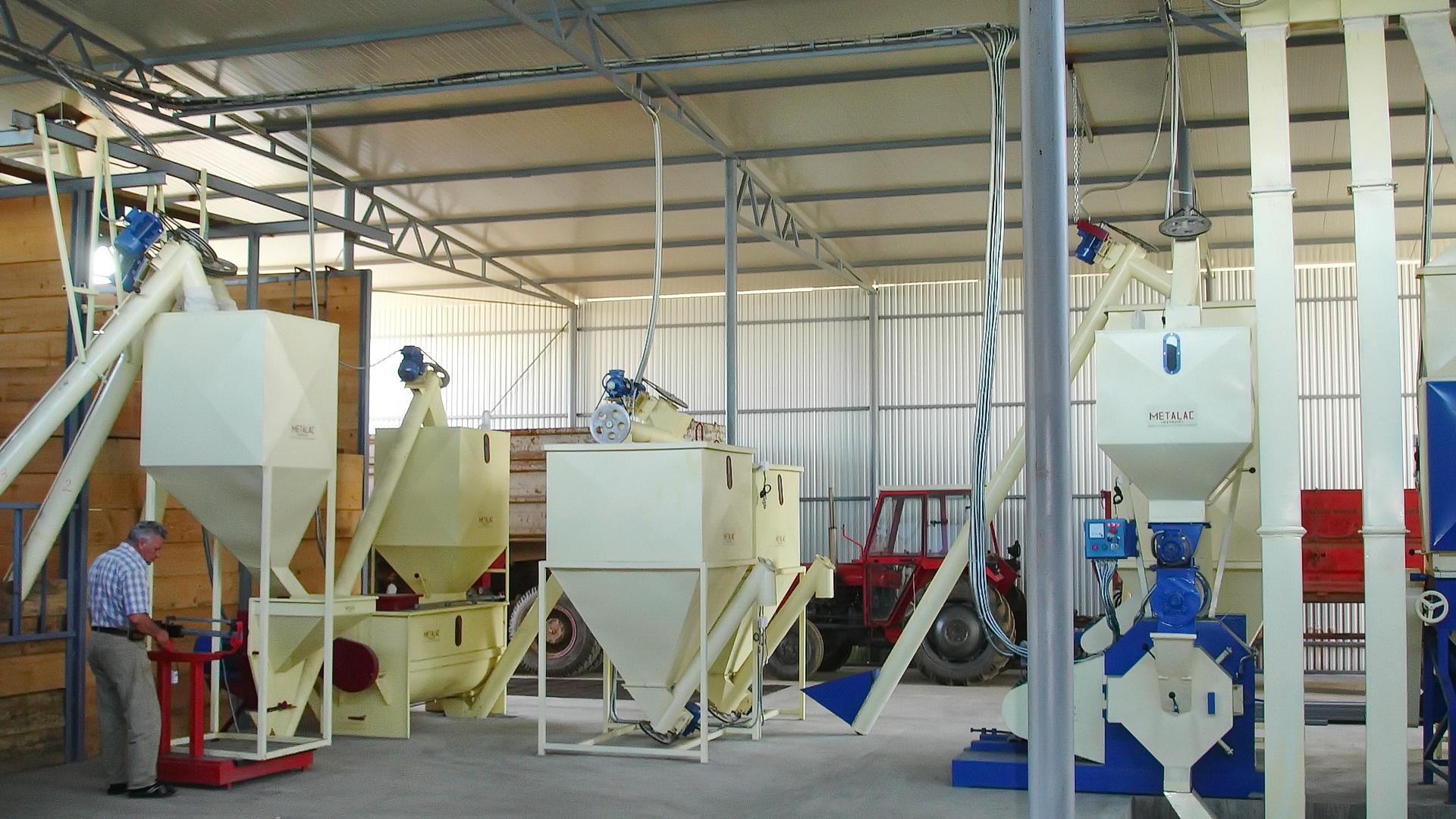 Fabrika za proizvodnju stocne hrane